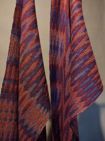 Jan's Echo weave Sampler and Towel 2020jpg