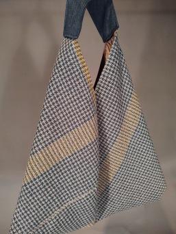 Jan's Origami Linen Bag
