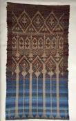 Linda A. Drawloom weaving 5S satin with 10 Pattern shaft damask