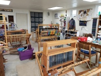 Ginger T. weaving studio Ellensburg Wa.