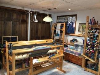 Linda A Clement and Yarn- yarn behind the closet doors too.