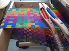 Karen R. Jennifer Moore Workshop 8 Shaft weaving