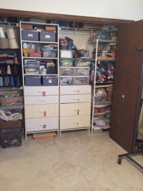 Ellen B.Yarn Room- closet of cottons/silk/ Misc