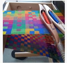 Karen R. Jennifer Moore Double Weave Workshop