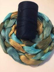 Ellen B: Tencel Dyed Warp scarf yarn