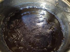 Jan M: Banana Indigo dyeing