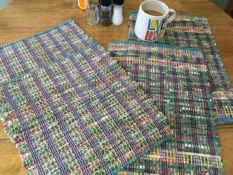 Linda A Pandemic weaving in Michigan