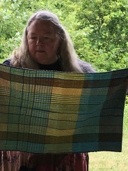 Pat B Towels from her worksop. Lot's and lots of color changes